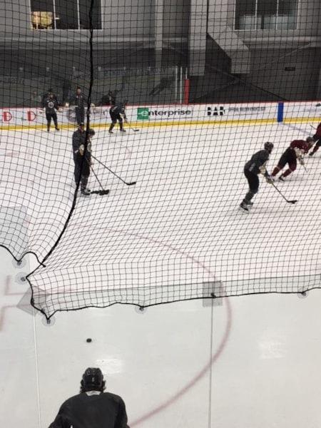 It was standing room only at Saturday's Golden Knights practice and KDWN's John Shaffer was there. Check it out... There's videos at the bottom, too.  IMG_1714 IMG_1746 IMG_1740